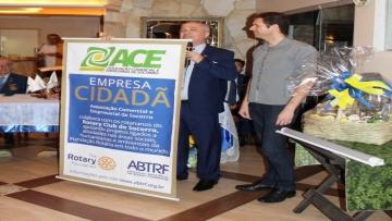 Ace Socorro recebeu Certificado de Empresa Cidadã