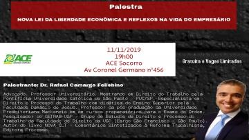 Palestra Dr. Rafael Camargo Felisbino