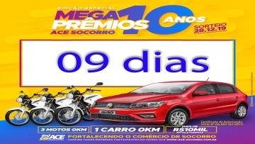 Contagem Regressiva Promoção Mega Prêmios 2019