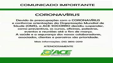 ATENÇÃO COMUNICADO IMPORTANTE