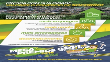ACE realiza campanha para divulgar Mega Prêmios 2016