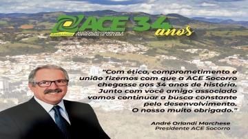 ANIVERSÁRIO ACE SOCORRO 34 ANOS
