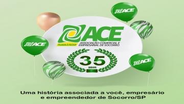 ACE Socorro comemora seus 35 anos